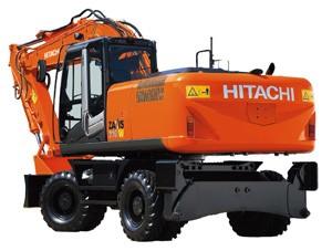 รีวิวรถขุด HITACHI รุ่น ZX210W-3