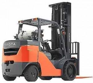 รีวิว รถยก Forklift Toyota รุ่น 8FGC35U