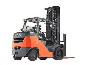 รีวิว รถยก Forklift Toyota รุ่น 8FGCSU20