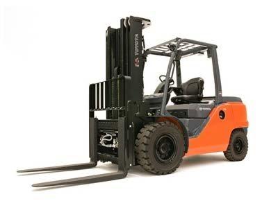 รีวิวรถยก Forklift Toyota รุ่น 8FGC45U-BCS