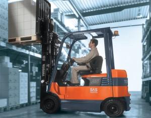 รีวิวรถยก Forklift Toyota รุ่น 8FGC55U-PRS