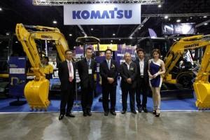"""""""บางกอกโคมัตสุเซลส์"""" โชว์นวัตกรรมรถขุดขนาดเล็ก """"KOMATSU"""""""
