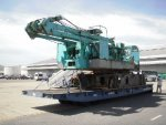 7200-1E # JE302-00061 : Used Crawler Crane โกเบ 200T. by kung081306228